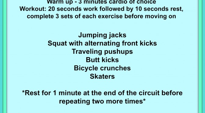 Beginner HIIT Workout!