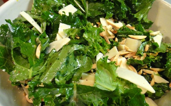 A Recipe for Kale Salad and Massage