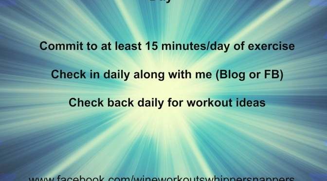 30 Day Workout Challenge: 15 Minutes a Day