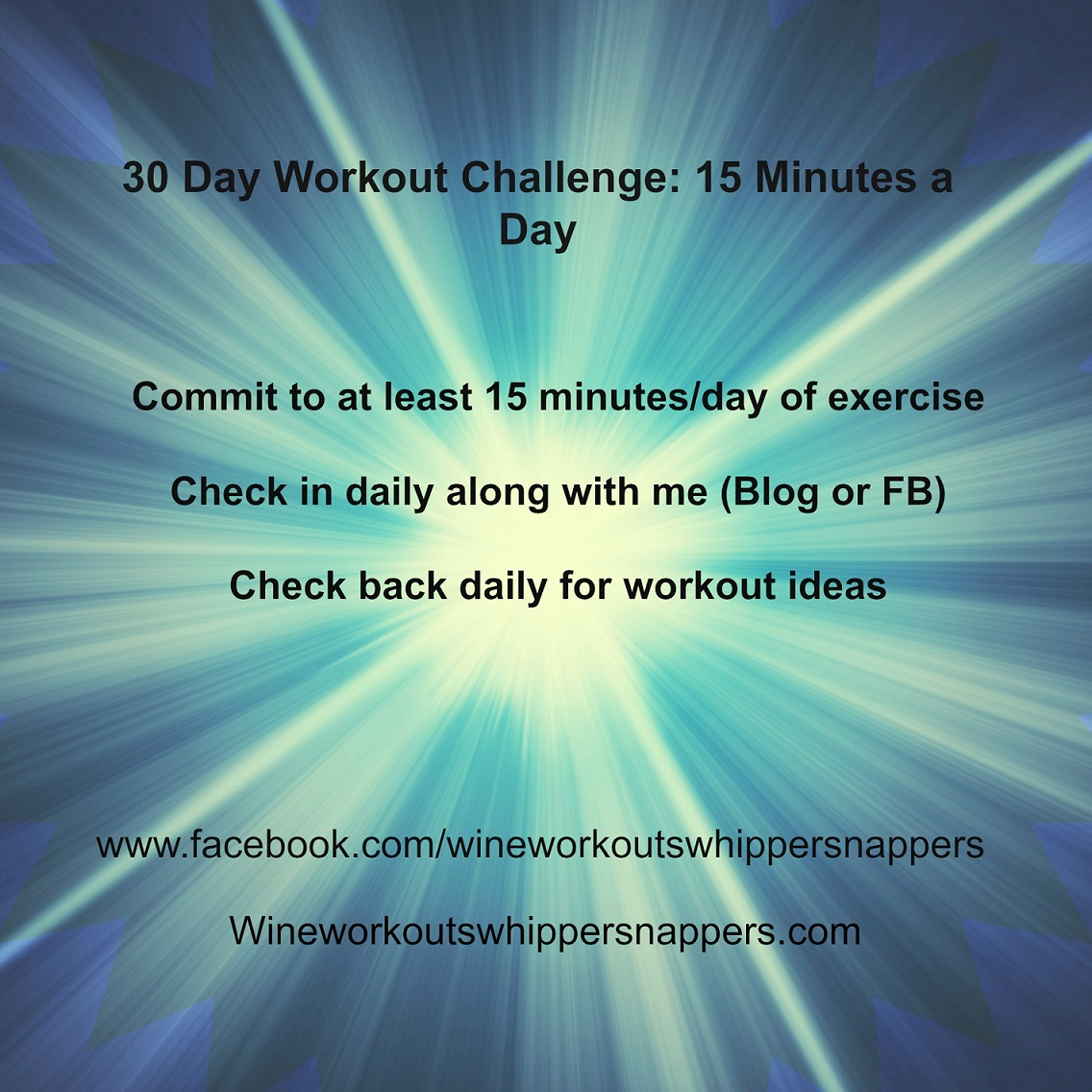 15 Minute Workout Challenge(3)