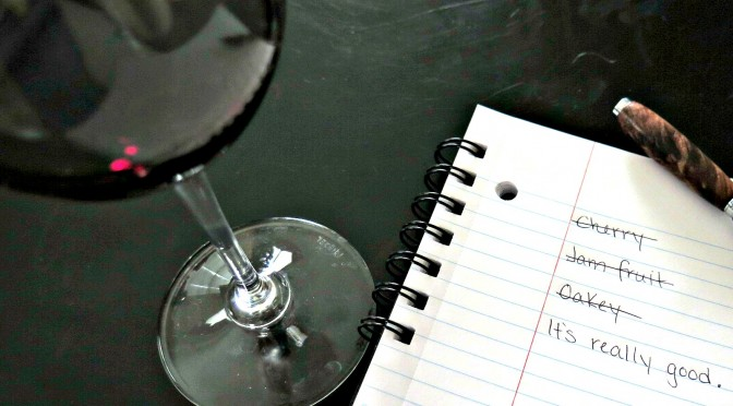 Writing Wine Tasting Notes: A Satire