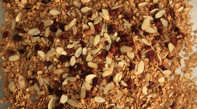 Easy and Healthy Granola Recipe
